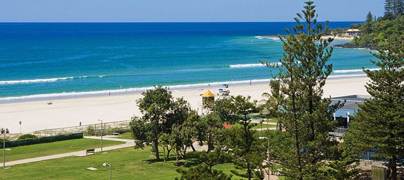 Coolangatta Beach Gold Coast Australia